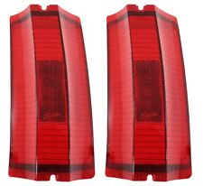 1965 Chevelle Station Wagon El Camino Outer Tail Light Lens Pair