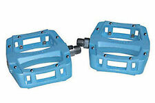 RALEIGH OUTLAND MTB PEDALS KUSTOM SLIM FLAT 9/16 BLUE OPE010BB 50% OFF RRP