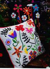 PATTERN -Bugs & Blooms Cushions - Flying Fish applique & pieced pillows PATTERN