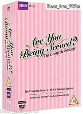 ARE YOU BEING SERVED COMPLETE 10 Seasons Series + Christmas Specials NEW DVD UK