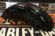 Custom Harley Gloss Black Rear Fender 160-200 Tire 2000 Custom Softail