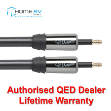 QED Performance Optical Mini to Mini Toslink Graphite Audio Cable 5m - QE7204