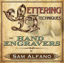 Lettering Techniques for Hand Engravers by Sam Alfano (DVD) / Metal Engraving