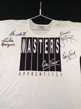 THE MASTERS APPRENTICES BAND T SHIRT  SIGNED JIM KEAYS DOUG FORD GLEN W COLIN B