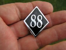 ~ # 88  MOTORCYCLE VEST PIN Badge Suits HARLEY-DAVIDSON or German Bike