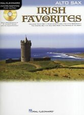 Playalong Irish Favourites Celtic Tunes Alto Saxophone Sax Music Book & CD