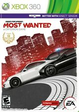 NEED FOR SPEED MOST WANTED  (XBOX 360, 2012) (7464)   *FREE SHIPPING USA*