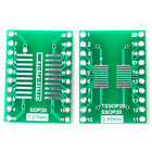5pcs SO/MSOP/TSSOP/SOIC20 to DIP 20 Adapter PCB Board Converter Double Sides HM