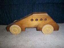 Old Wooden Handmade Push Car 24 inches long