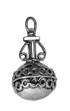 LOOK Perfume Fragrance bottle cosmetic Sterling silver charm