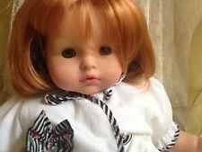 Darling Vintage Gotz Puppet  Doll Strawberry Red Hair