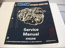 USED OMC STERN DRIVES SERVICE MANUAL ENGINE 507143