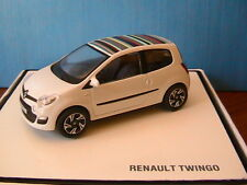 RENAULT TWINGO 2 PHASE II WHITE NOREV 7711431530 1/43 BLANCHE BLANC BIANCA