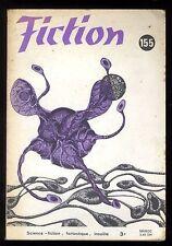 Revue FICTION n° 155 Oct.1966  R.A. LAFFERTY / Damon KNIGHT / DEBLANDER   OPTA