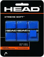 HEAD XTREME SOFT OVERGRIP BLUE OVER GRIP , GRIP FOR PADEL SQUASH BADMINTON