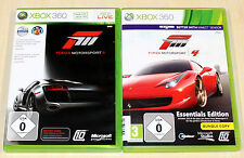 2 xbox 360 jeux collection-Forza Motorsport 3 & 4-rennspiel racing