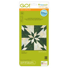 "AccuQuilt GO! & Baby Hunter Star-6"" Finished Fabric Cutting Die 55116 Quilting"
