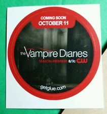 THE VAMPIRE DIARIES SEASON PREMIERE TITLE OCTOBER NAME GET GLUE STICKER