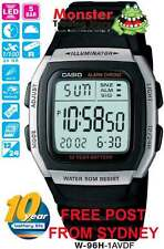AUSSIE SELLER CASIO WATCHES W-96H-1AV W96H W96 W-96H 50-METRES 12-MONTH WARRANTY