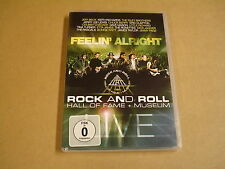 MUSIC DVD / FEELIN' ALRIGHT - ROCK AND ROLL HALL OF FAME + MUSEUM