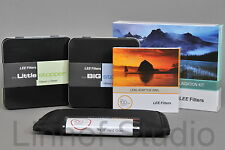 LEE Filters 100mm Kit 0.6ND Hard, Big and Little Stopper, 86mm Standard Adapter