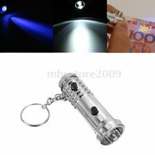 Mini Banknote Checker Forged Money Counterfeit Detector Marker Tester Flashlight