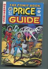 OVERSTREET COMIC BOOK PRICE GUIDE #9 (6.5) SOFTCOVER WALLY WOOD COVER 1979!