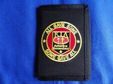 K.I.A. AMERICA REMEMBERS ( ALL GAVE SOME, SOME GAVE ALL ) HEAVY DUTY WALLET