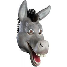 Donkey Mask Democrat Jackass Costume Accessory Adult Shrek Halloween