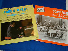 LOT 4 LP COUNT BASIE and his ORCHESTRA one o'clock jump JAZZ edison CLAYTON tate