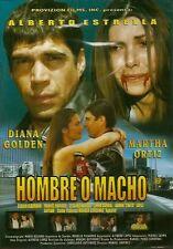 HOMBRE O MACHO(ALBERTO ESTRELLA, DIANA GOLDEN Y MARTHA ORTIZ) NEW DVD