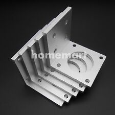 For 57mm NEMA23 Stepper Motor WHITE of Aluminum  Mounting Bracket Professional !