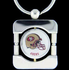 San Francisco 49ers Executive Silver Keychain  [NEW] NFL Car Auto Key Chain CDG
