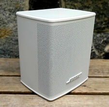 BOSE virtually invisible ® Series II * CUBE SPEAKERS ALTOPARLANTE SATELLITE BIANCO