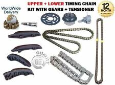 FOR BMW X1 23D E84 XDRIVE 204BHP 2009-  UPPER + LOWER TIMING CHAIN KIT SET