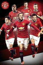 Manchester United Players 2014 - 2015 - Maxi Poster 61cm x 91.5cm (new & sealed)