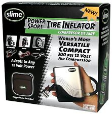 Compact Tire Inflator 12V Small Air Compressor Motorcycle Car Bikes Tires Pump