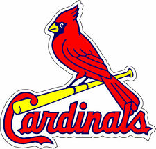 "St Louis Cardinals   Baseball MLB Bumper sticker, wall, vinyl, bumper 5""x 5"""