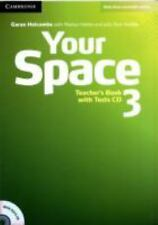 Your Space Level 3 Teacher's Book with Tests CD, Holcombe, Garan, Very Good cond