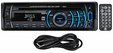 Dual XHDR6435 In-Dash Car Stereo Bluetooth Receiver w/ Remote + AUX Cable