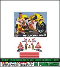 kit adesivi stickers compatibili nsr 125 r  ralf waldman hb international