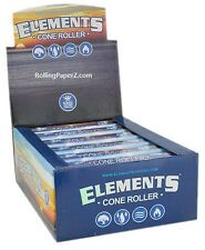 Display of 12 Elements Rolling Papers Brand CONE Roller Machines King Size 110mm