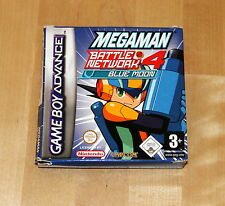 Megaman Battle Network 4 blue moon - Game Boy Advance - pal