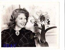 Lana Turner sweet smile VINTAGE Photo