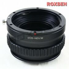 Canon EOS EF lens to Sony E NEX adapter Macro Focusing Helicoid 7 A6000 A5100