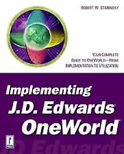 Implementing J.D. Edwards OneWorld BAAN)