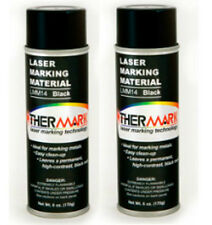 Double Pack Thermark 6oz Spray Cans for C02 Laser Engraver Metal Cermark