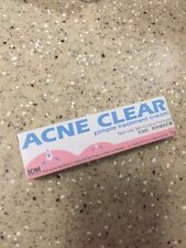 ICM Pharma Acne Clear Pimple Treatment Cream 15g Powerful Tri-Action Formula