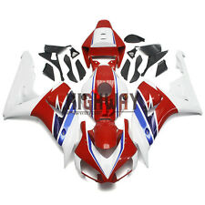 Injection Fairings Fit Honda CBR1000RR 06 07 ABS Plastic Bodywork HRC White Red