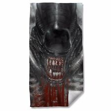 "Alien Movie Blood Drool Licensed Beach Towel 30"" X 60"""